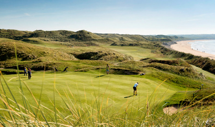 Play Golf At Ballybunion Golf course with Scales Golf & Travel