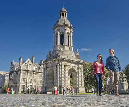 Visit Trinity College, Dublin City With Scales Golf and Travel.