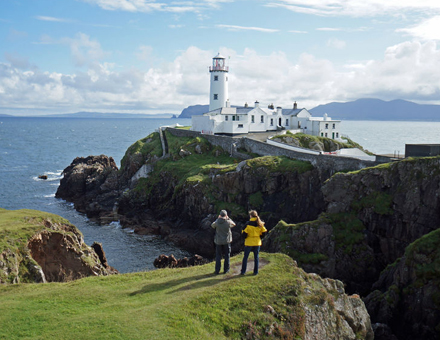 Visit or Stay At Fanad Lighthouse Co, Donegal with Scales Golf and Travel