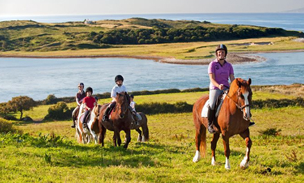 Enjoy Horse Riding with Scales Golf and Travel
