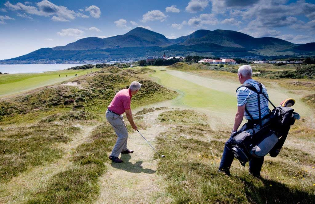 Play Golf At Royal County Down Golf course with Scales Golf & Travel