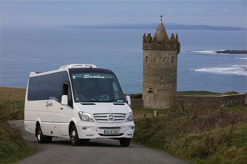 See Carrigaholt Castle Co. Clare with Scales Golf & Travel