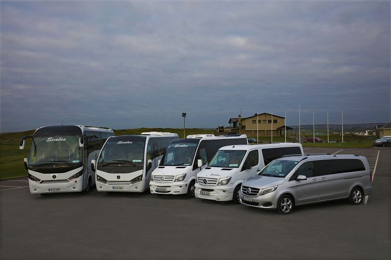 Luxury vehicles for touring with Scales Golf & Travel